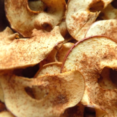 How to Make Dried Apples Crispy/Chewy vs. Crispy