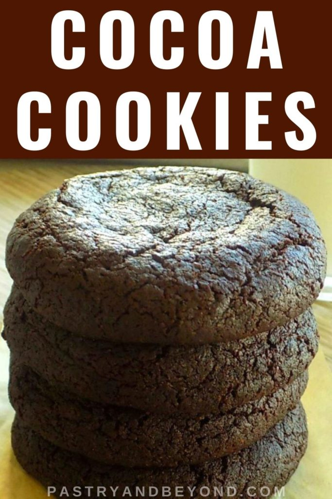 Pin for cocoa cookies