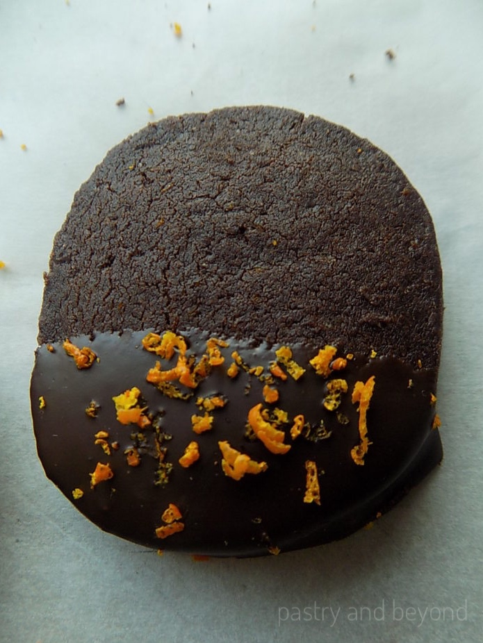 Chocolate Orange Cookies