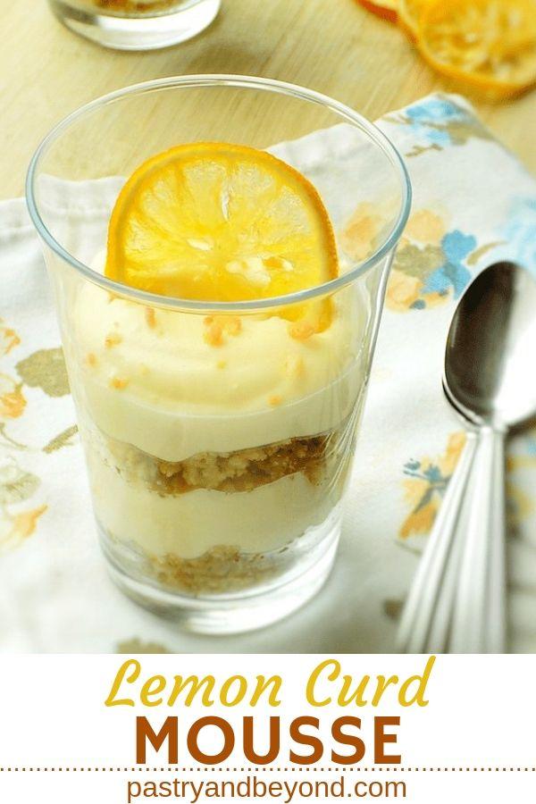 Lemon Curd Mousse