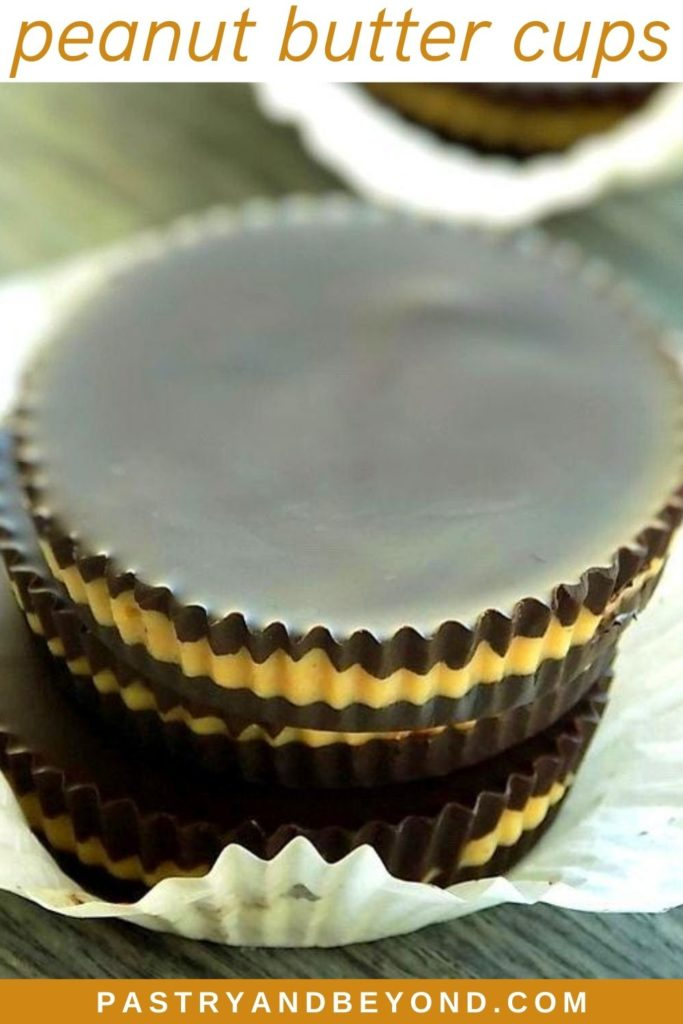 Pin for peanut butter cups