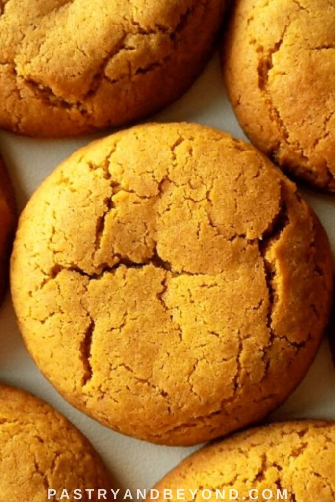 Pin for ginger molasses cookies