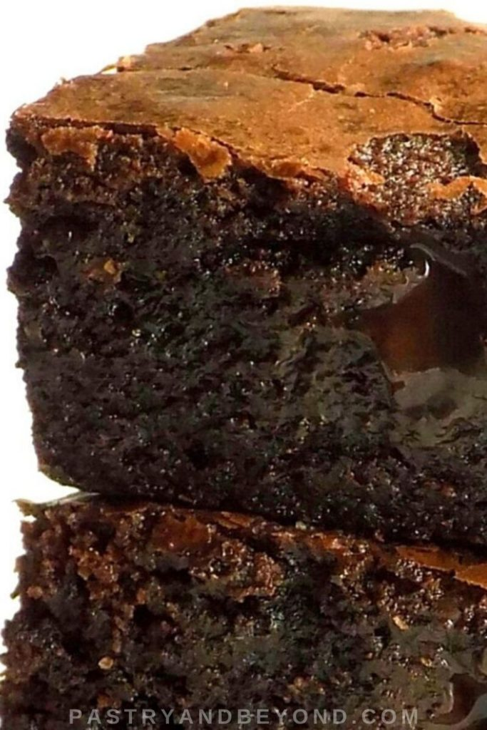 Pin of brownies