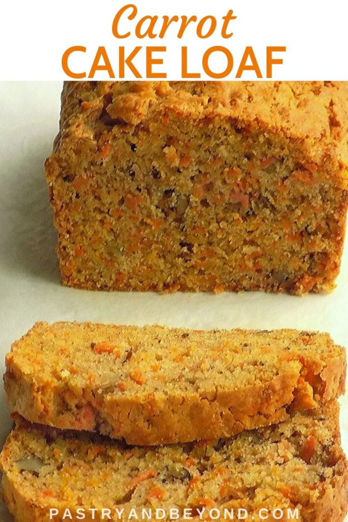 Pin for carrot cake loaf